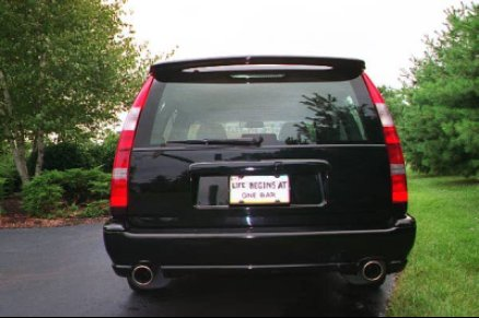 For those who don't know, the US market AWD V70 listed above came with a